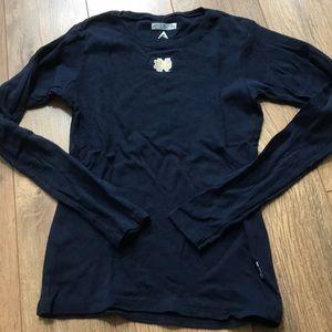Notre Dame Long Sleeve Shirt Small